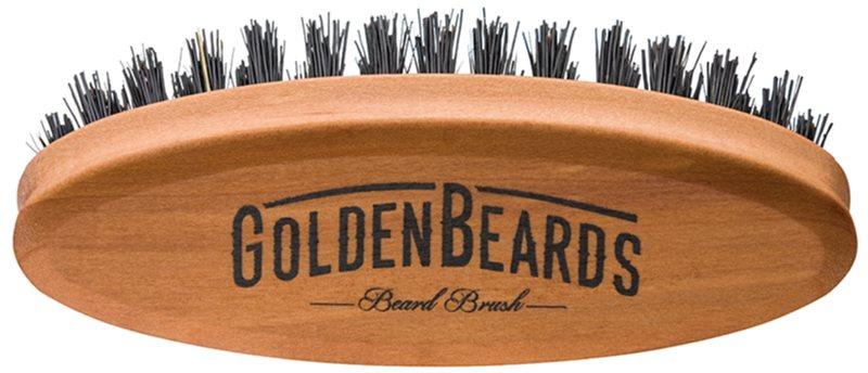 Golden Beards Accessories potovalna krtača za brado