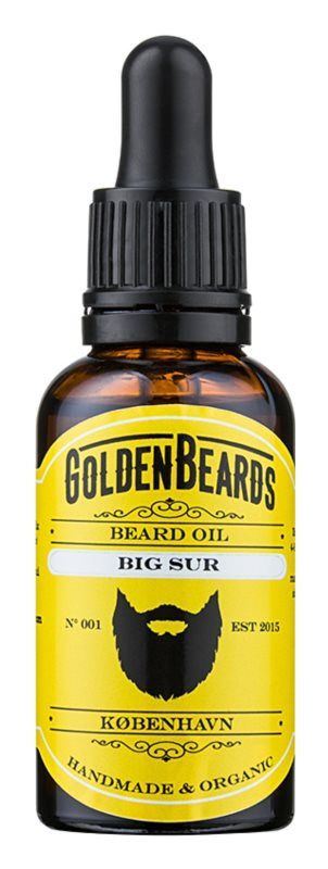 Golden Beards Big Sur Beard Oil