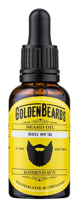 Golden Beards Big Sur olej na bradu
