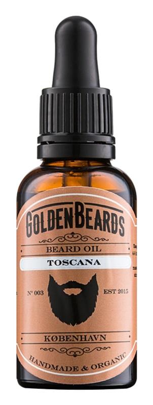 Golden Beards Toscana huile pour barbe