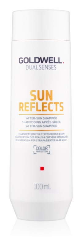 Goldwell Dualsenses Sun Reflects почистващ и подхранващ шампоан за изтощена от слънце коса