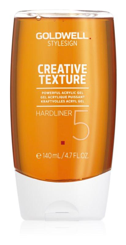 Goldwell StyleSign Creative Texture Showcaser 3 stiling gel z ekstra močnim utrjevanjem