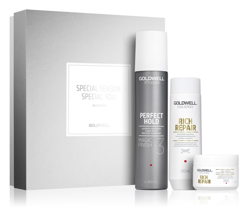 Goldwell Dualsenses Rich Repair косметичний набір I.