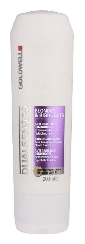 Goldwell Dualsenses Blondes & Highlights kondicionáló melíres hajra