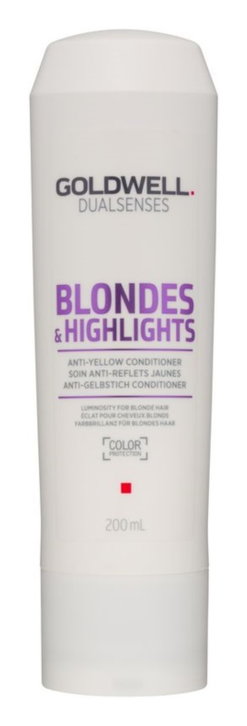 Goldwell Dualsenses Blondes & Highlights кондиціонер для блонд волосся для нейтралізації жовтизни