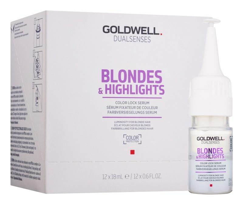 Goldwell Dualsenses Blondes & Highlights ser pentru parul blond cu suvite