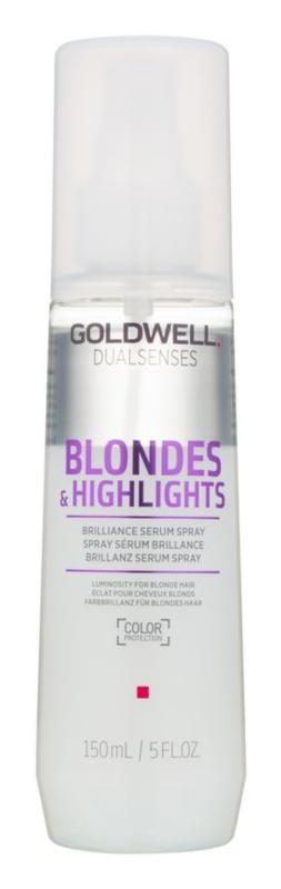 Goldwell Dualsenses Blondes & Highlights serum w sprayu bez spłukiwania do włosów blond i z balejażem