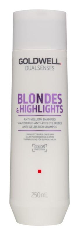 Goldwell Dualsenses Blondes & Highlights Shampoo für blonde Haare neutralisiert gelbe Verfärbungen