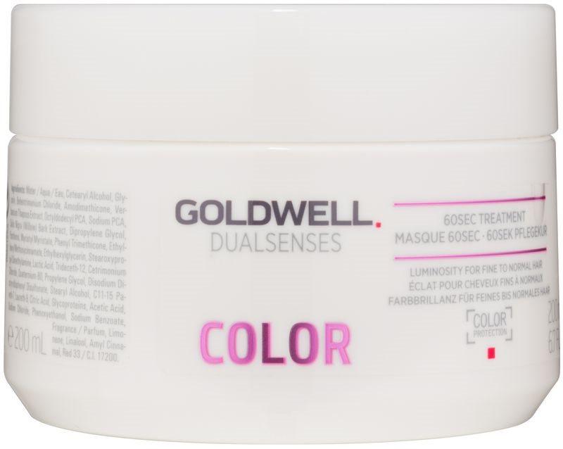 Goldwell Dualsenses Color regeneracijska maska za normalne do tanke barvane lase