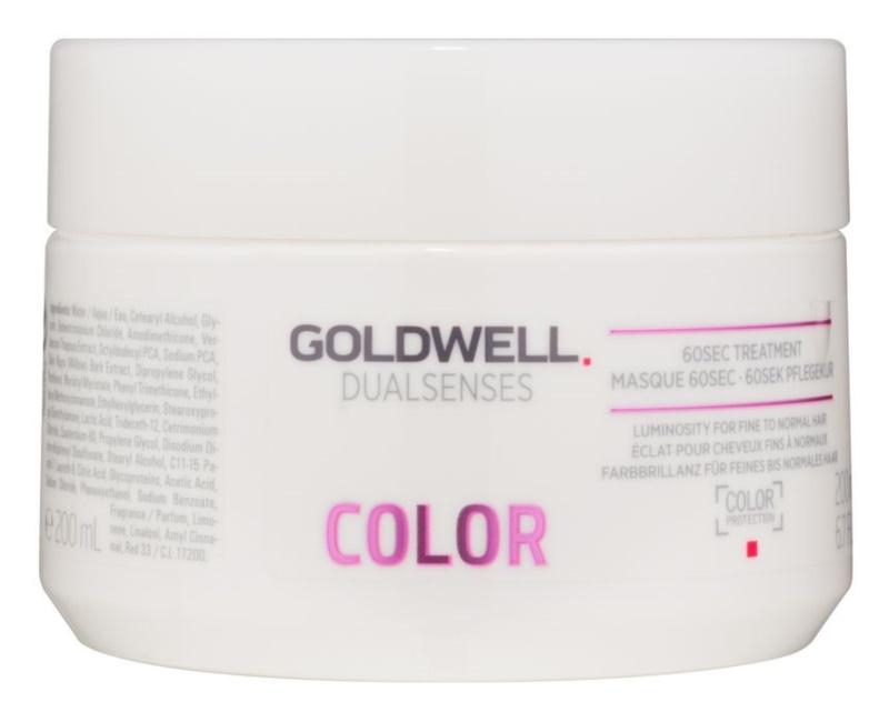 Goldwell Dualsenses Color regenerační maska pro normální až jemné barvené vlasy