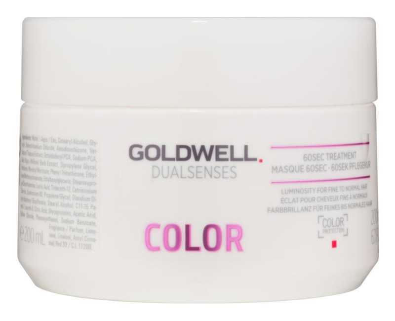 Goldwell Dualsenses Color Regenerating Hair Mask for Normal to Slightly Dyed Hair