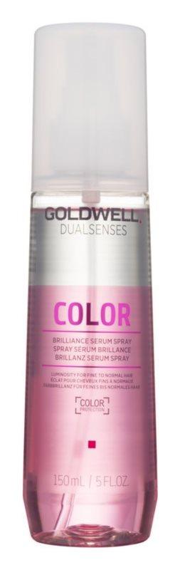 Goldwell Dualsenses Color siero spray senza risciacquo per la luminosità e la protezione dei capelli tinti