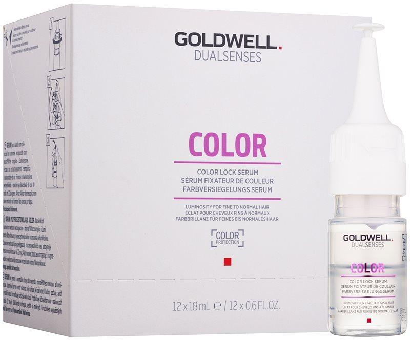 Goldwell Dualsenses Color serum za lase za tanke, barvane lase