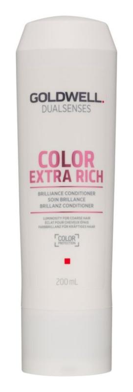 Goldwell Dualsenses Color Extra Rich Conditioner zum Schutz der Farbe