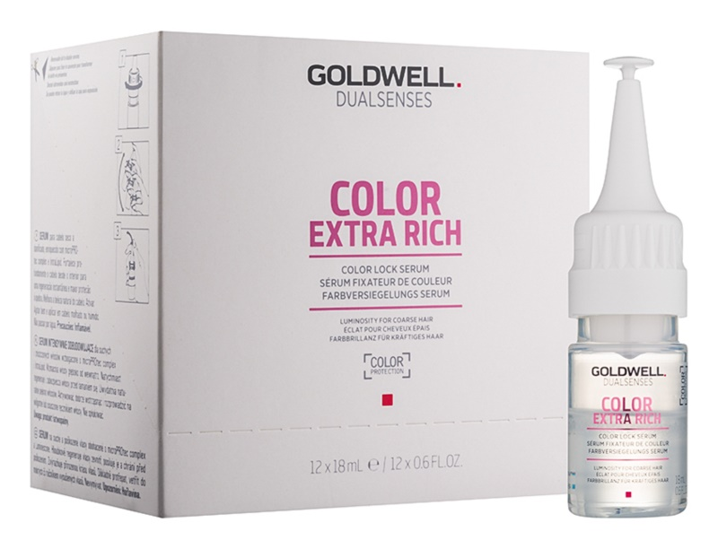 Goldwell Dualsenses Color Extra Rich Colour-Protecting Serum for Glossy Hair