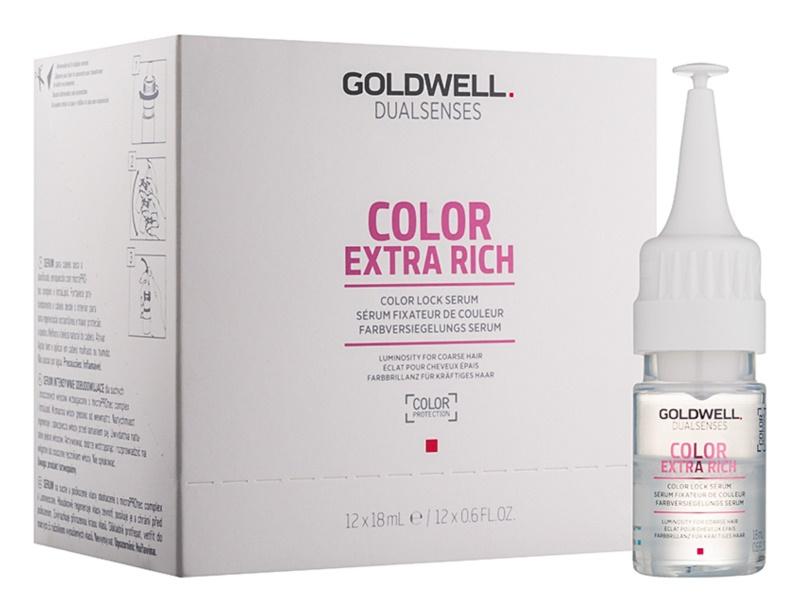 Goldwell Dualsenses Color Extra Rich serum za zaščito barve in za sijaj las