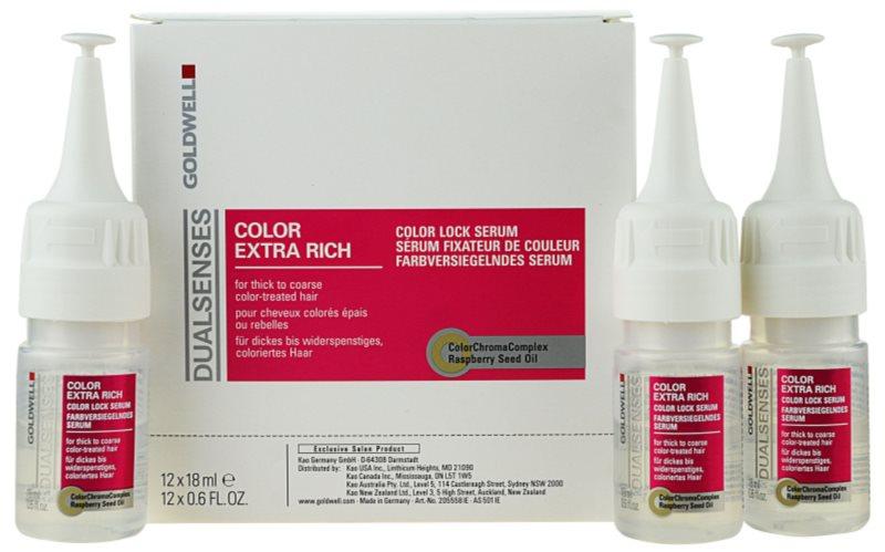 Goldwell Dualsenses Color Extra Rich Serum ohne Ausspülen für grobes gefärbtes Haar