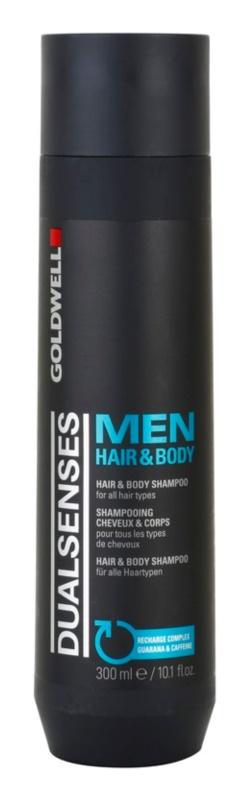 Goldwell Dualsenses For Men šampon in gel za prhanje 2v1