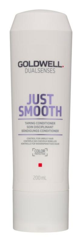 Goldwell Dualsenses Just Smooth uhladzujúci kondicionér pre nepoddajné vlasy