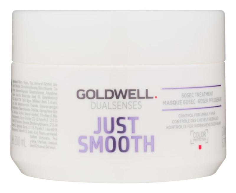 Goldwell Dualsenses Just Smooth glättende Maske für widerspenstiges Haar