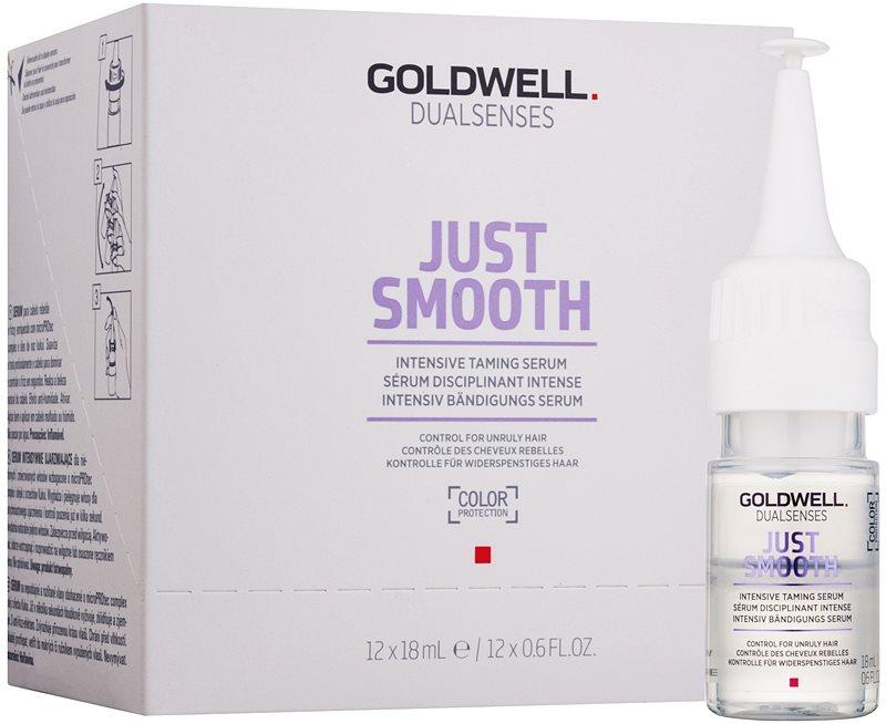 Goldwell Dualsenses Just Smooth verfeinerndes Serum für unnachgiebige und strapaziertes Haar