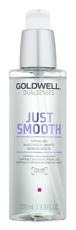 Goldwell Dualsenses Just Smooth olaj a rakoncátlan és töredezett hajra