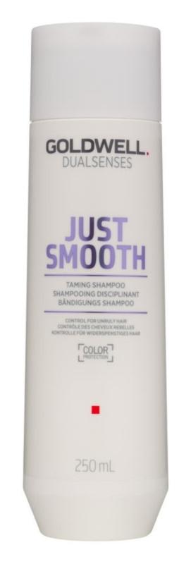 Goldwell Dualsenses Just Smooth šampon za glajenje las za neobvladljive lase