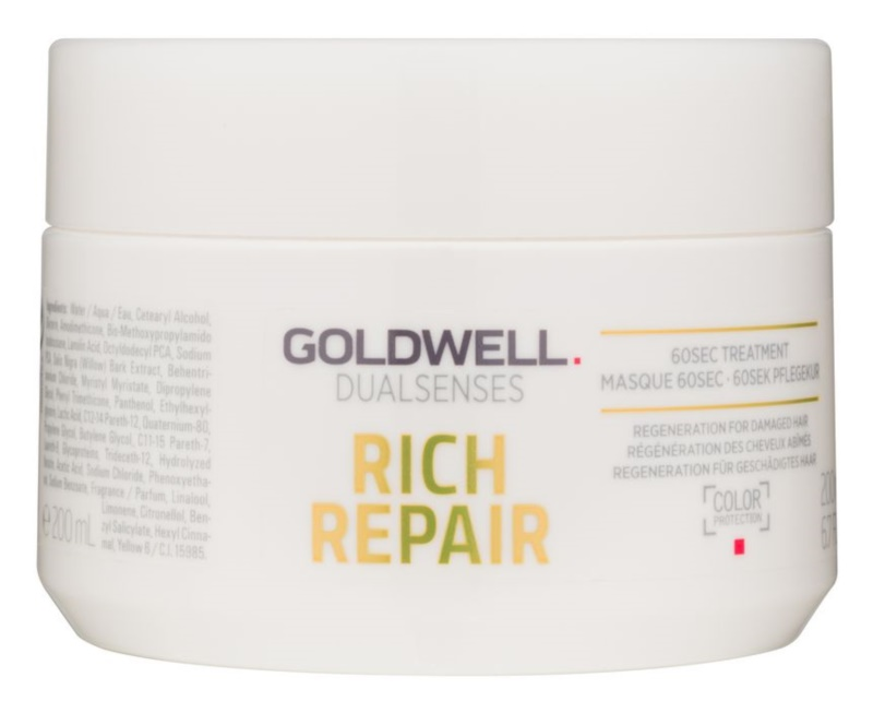 Goldwell Dualsenses Rich Repair maska pre suché a poškodené vlasy