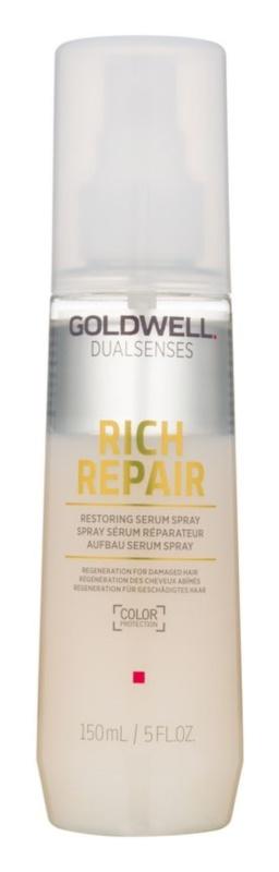 Goldwell Dualsenses Rich Repair bezoplachové sérum v spreji pre poškodené vlasy
