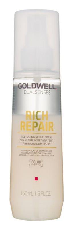 Goldwell Dualsenses Rich Repair sérum sans rinçage en spray pour cheveux abîmés