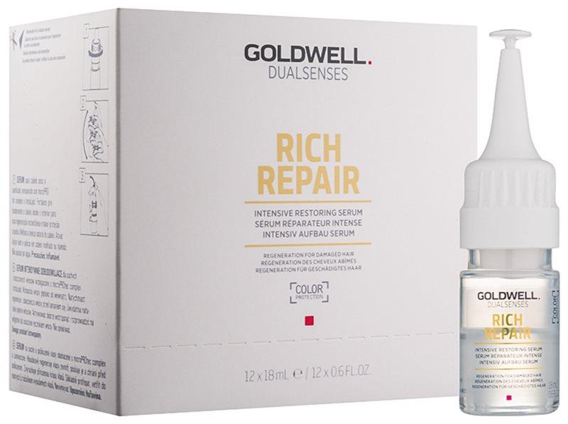 Goldwell Dualsenses Rich Repair intenzívne obnovujúce sérum pre suché a poškodené vlasy