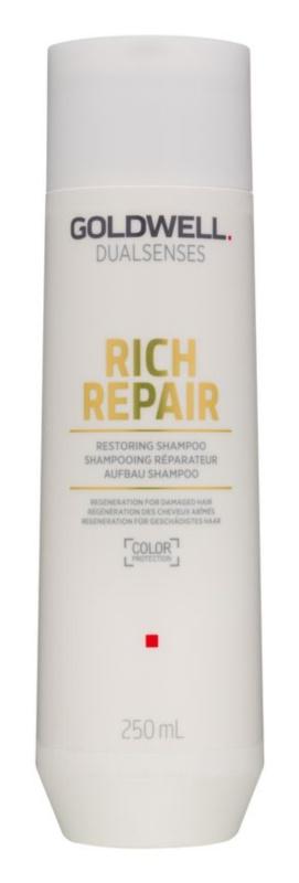 Goldwell Dualsenses Rich Repair szampon odbudowujący włosy do włosów suchych i zniszczonych