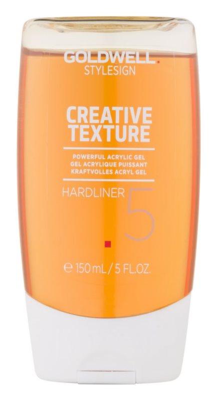 Goldwell StyleSign Creative Texture Showcaser 3 gel acrilic cu fixare foarte puternica