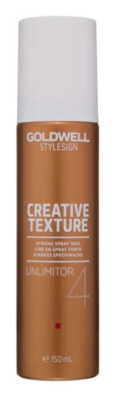 Goldwell StyleSign Creative Texture Unlimitor 4 vosk na vlasy ve spreji