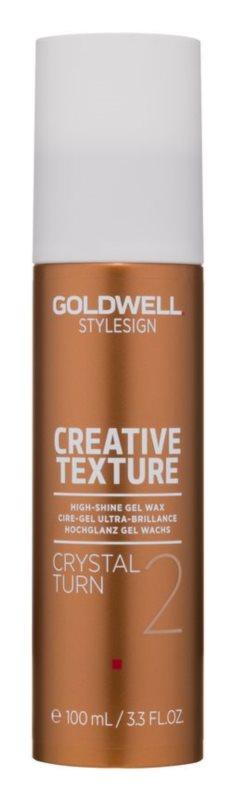 Goldwell StyleSign Texture Crystal Turn 2 gélový vosk s vysokým leskom