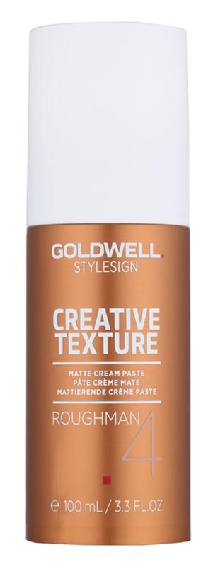 Goldwell StyleSign Creative Texture Roughman 4 mattierende Stylingpaste für das Haar