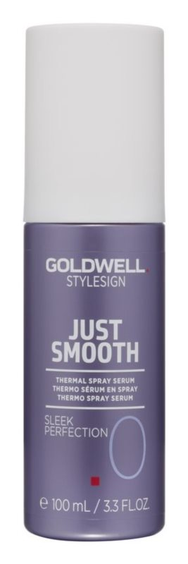 Goldwell StyleSign Just Smooth Thermalserum als Spray für thermische Umformung von Haaren