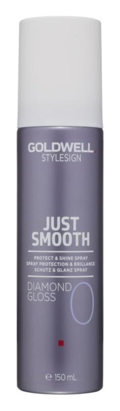 Goldwell StyleSign Just Smooth spray protector para dar brillo y suavidad al cabello
