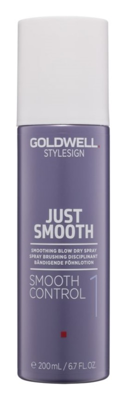 Goldwell StyleSign Just Smooth spray lisciante per l'asciugatura con l'asciugacapelli