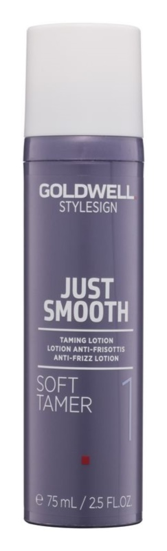 Goldwell StyleSign Just Smooth mleczko ochronne przeciwko puszeniu się włosów