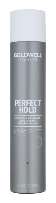 Goldwell StyleSign Perfect Hold ekstra mocny lakier do włosów do włosów