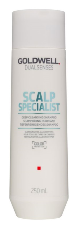Goldwell Dualsenses Scalp Specialist champô de limpeza profunda para todos os tipos de cabelos