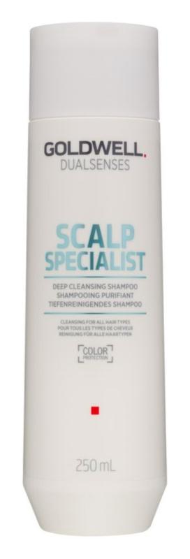 Goldwell Dualsenses Scalp Specialist szampon głęboko oczyszczający do wszystkich rodzajów włosów