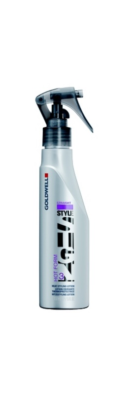 Goldwell StyleSign Straight stylingový sprej pro vlasy namáhané teplem