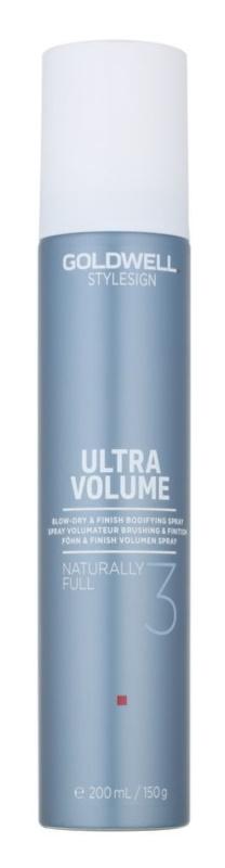 Goldwell StyleSign Ultra Volume spray nadający objętość włosom podczas suszenia i stylizacji