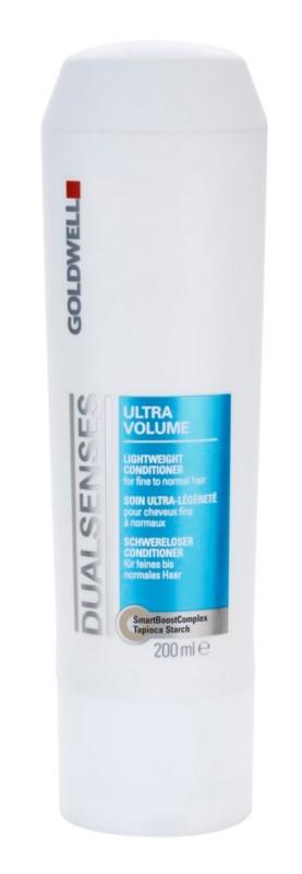 Goldwell Dualsenses Ultra Volume condicionador leve para cabelo fino a normal
