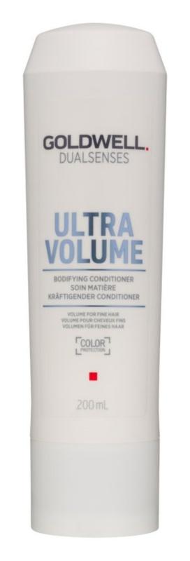 Goldwell Dualsenses Ultra Volume condicionador para dar volume aos cabelos finos