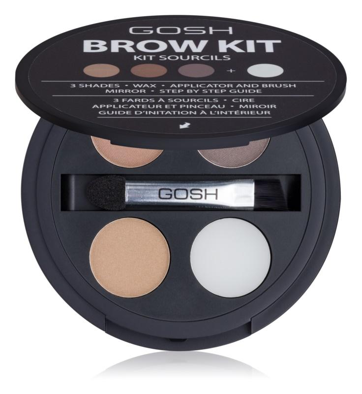 Gosh Brow Kit kit pentru sprâncene