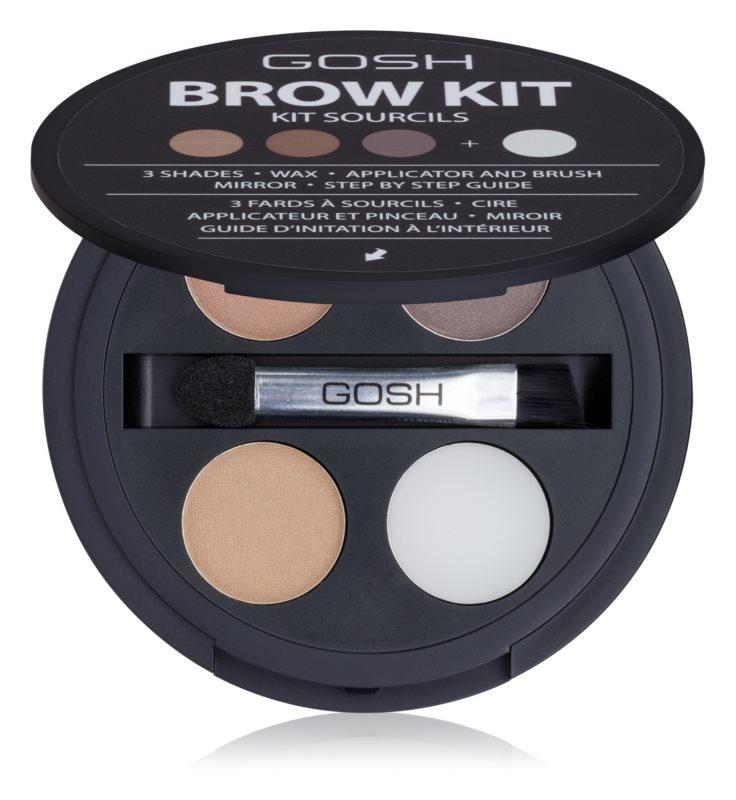 Gosh Brow Kit набір для догляду за бровами