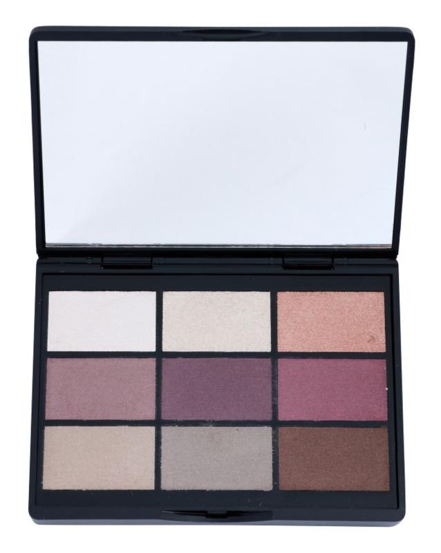 Gosh Shadow Collection paleta očných tieňov so zrkadielkom